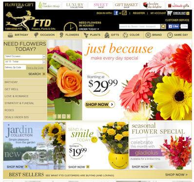 Where do I enter FTD.com Coupons?