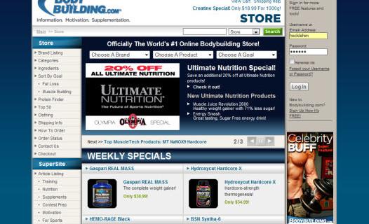Redeem Bodybuilding.com Coupons