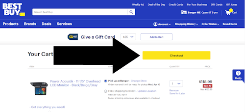 Enter a bestbuy coupon 3