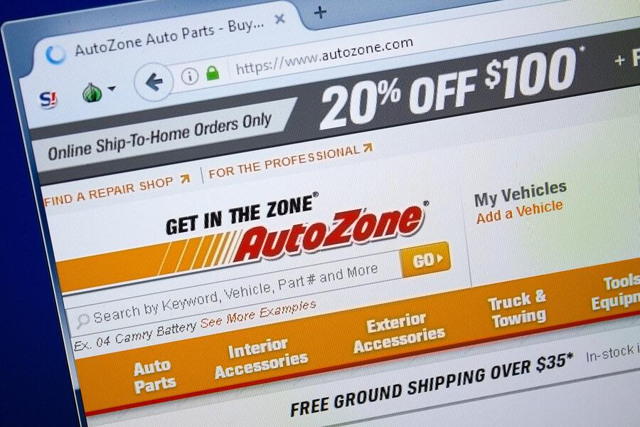 Where Do I Enter a coupon on Autozone.com