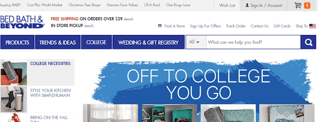 How do I use Bed Bath and Beyond coupons