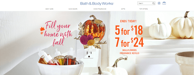 Where Does My Bath and Body Works Promo Code Go?