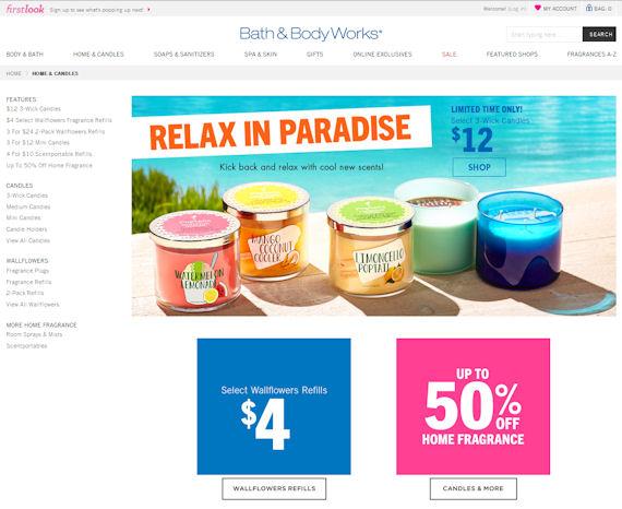 How do I enter my BathAndBodyWorks Coupon