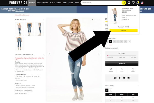 forever21 step two