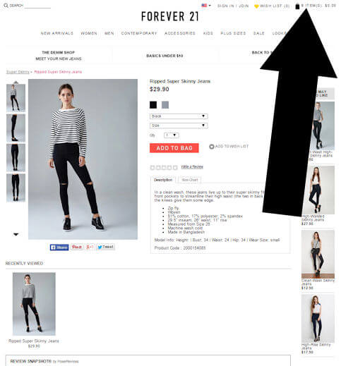 Forever 21 online coupon code