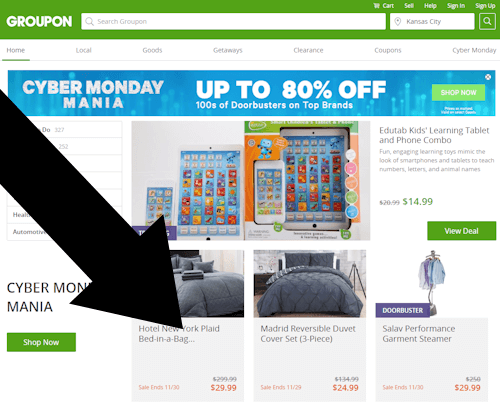 Where Does The Promotional Code Go On groupon?