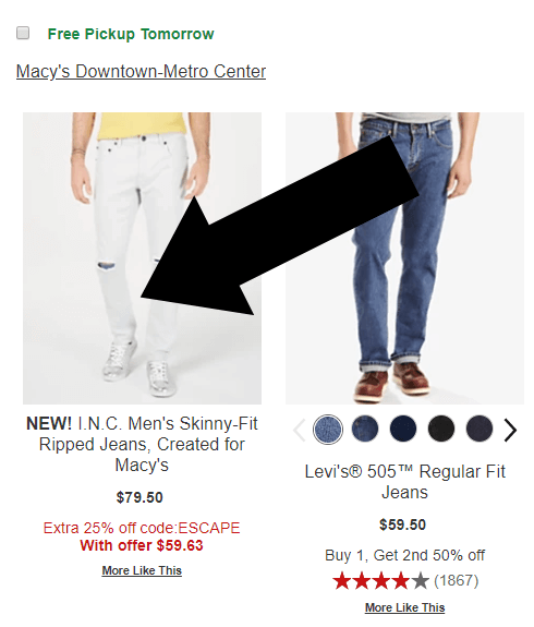 macys coupon step one