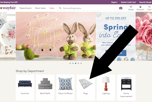 wayfair step one