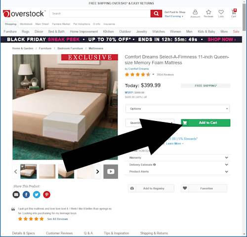overstock step two