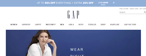 Where Do I Enter the Coupon at The Gap?