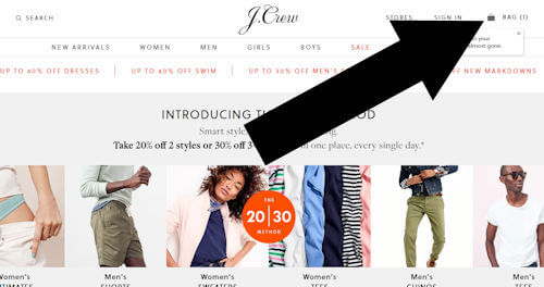 jcrew step one