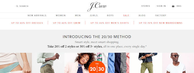 How Do I Use A Coupon At J Crew ?