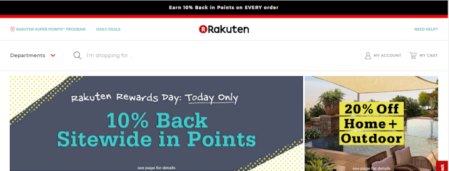 where do i enter the coupon on Rakuten
