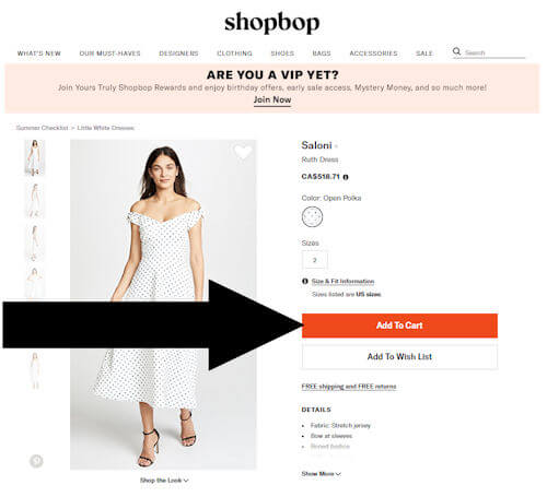 shopbop step two