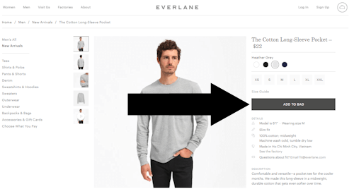 where enter everlane coupon step one