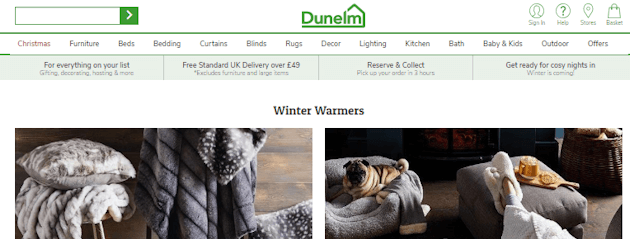where enter voucher coupon dunelm