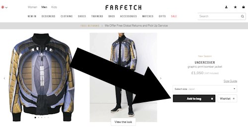 Where Does The Promotional Code Go On farfetch
