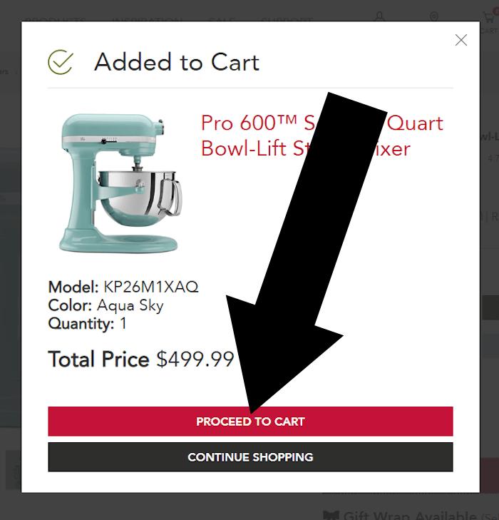 kitchenaid step 2 redeem coupon